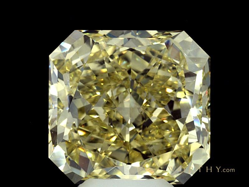 9.14 ct. Radiant Cut Loose Diamond, Fancy, VVS2 #2