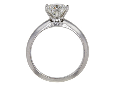 1.4 CT ROUND CUT SOLITAIRE TIFFANY & CO. RING