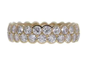 ROUND CUT ETERNITY CARTIER BAND