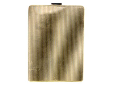 VINTAGE SOLID 18K YELLOW GOLD CIGARETTE CASE