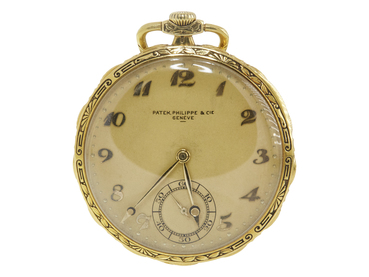 PATEK PHILIPPE 18KT YELLOW GOLD POCKET WATCH